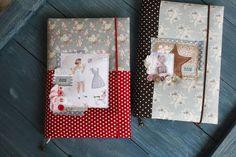 Handmade notebooks.