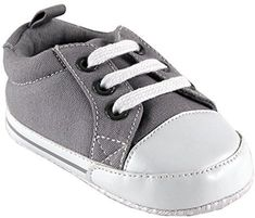Cute and classic describe these adorable Luvable Friends Basic Canvas Sneakers. The perfect accessory to any casual outfit, this slip on shoe features a non-skid sole and a small back tab for easy on and off. Great shoe for the simple, chic baby. Best Baby Shoes, Baby Crib Shoes, Newborn Shoes, Baby Boy Newborn, Baby Boys, Baby Sneakers, Girls Sneakers, Canvas Sneakers, Boys Shoes