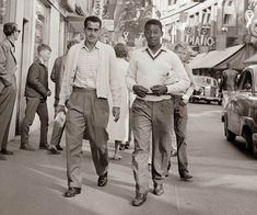 17-year old Pelé in Sweden before the 1958 World Cup