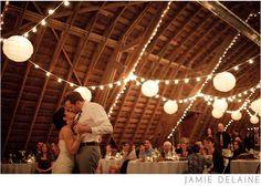 In a barn