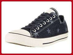 Converse Unisex Chuck Taylor All Star Ox Low Top Classic Inked/Egret/Dark Denim Sneakers - 12 B(M) US Women / 10 D(M) US Men - Mens world (*Amazon Partner-Link)