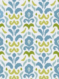 Stroheim: Dana Gibson wallpaper - Montenegro 4788303 - Turquoise Lime. $74.00. This wallpaper and many more fabrics, trims, and wallpapers are available for the guaranteed lowest price online at Designerfabricsusa.com