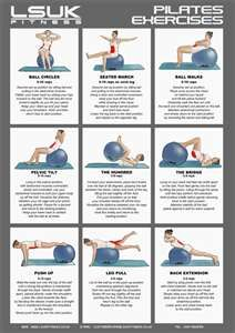 Pilates Exercises -  Swissball