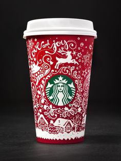There are 13 Starbucks red cups this year