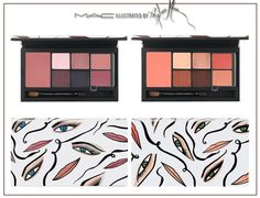 MAC Illustrated Collection - Rebecca Moses