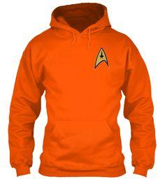 Welcome Trekkies Safety Orange T-Shirt Front