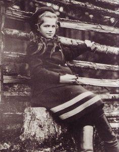 Maria Romanov. Early 1900s.