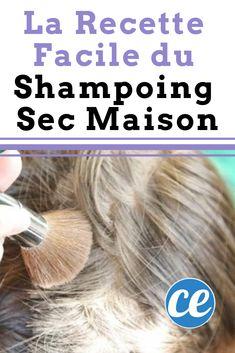 La recette facile du shampoing sec fait maison.