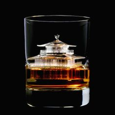'3D on the Rocks', Beautiful Japanese Whiskey Campaign Uses Ice Sculptures Made With Three Dimensional Ice Printer