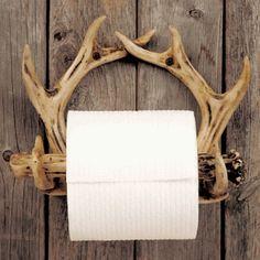Antler Toilet Paper Holder Rustic Toilets, Antler Crafts, Home Decor Accessories, Bathroom Accessories, Rustic Decor, Rustic Bathroom Decor, Rustic Bathrooms, Cabin Bathrooms, Lodge Bathroom