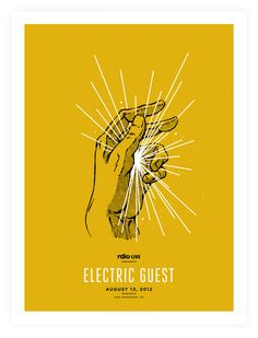 RDIO Electric Guest Poster - Mark Weaver