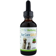 Ear Care Gold for Pets, 2 Oz, Pet Wellbeing | Free Shipping