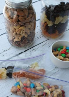This Fruit and Nut Mix is the perfect afternoon pick-me-up for those long days. Pack it up and take it with you—it's a great on-the-go snack!