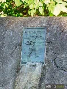The Appalachian Trail crosses Unicoi Gap near Helen, Georgia, commemorated by a bronze plaque Helen Georgia, Beach Trip, Beach Travel, Summit View, Surfing Pictures, Pacific Crest Trail, Backpacking Tips, Get Outdoors, Appalachian Trail