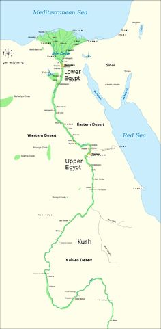The Nile No Nile No Egypt Flooded Predictable Provided - Map of egypt and nubia