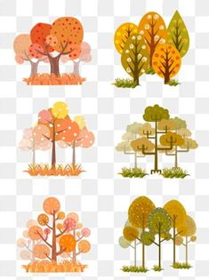 Best Indoor Garden Ideas for 2020 The number of internet users who are looking for… Forest Illustration, Landscape Illustration, Pattern Illustration, Watercolor Trees, Watercolor Pattern, Watercolor Paintings, Forest Cartoon, Cartoon Trees, Cartoon Background