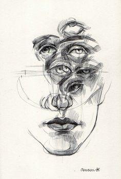 Kunst Inspo, Art Inspo, Art And Illustration, Art Sketches, Art Drawings, Sad Art, Art Hoe, Pretty Art, Surreal Art