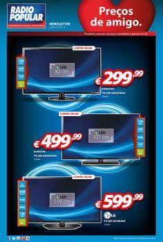 #Newsletter - TV LED! A preços de amigo!  http://www.radiopopular.pt/newsletter/2013/72/