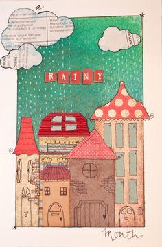 Mixed media art journal ...BTW,Check this out: http://artcaffeine.imobileappsys.com