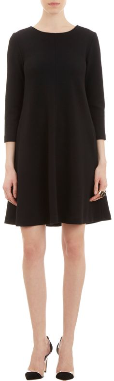 Lisa Perry Double-Knit Swing Dress at Barneys.com