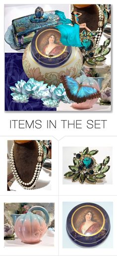End of the Day ~  What A Day by pattysporcelainetc on Polyvore featuring art, vintage and country