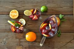 Nothing better than sippin' on a Summer Friday! What fruit do you love to mix into your homemade sangria?