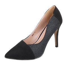 Damen Schuhe, M803, PUMPS HIGH HEELS - http://on-line-kaufen.de/ital-design/damen-schuhe-m803-pumps-high-heels