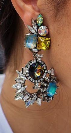 Beautiful austrian crystals earring