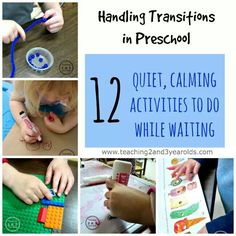 Quiet activities for little ones