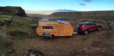 Tiny House-inspired Pop Up Travel Trailer by Home Grown Trailers 007