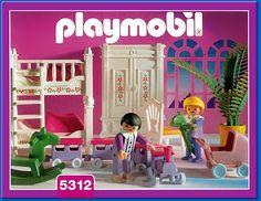 PLAYMOBIL� set #5312 - Childrens bedroom