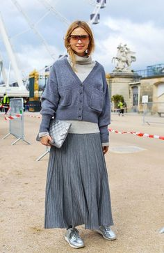 The top street style looks from Paris Fashion Week