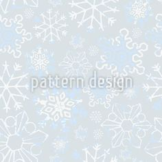 Stars On My Window Pane Repeat Pattern Snowflake Ornaments, Snowflakes, Vector Pattern, Pattern Design, Repeating Patterns, Surface Design, Romantic, Windows, Stars