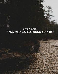 lyricsgraphy: liability - lorde