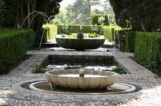 Gardens of Alahambra   Granada, Spain
