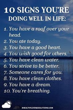 I am super rich! Appreciate all life gives you. Read this with the mr tonight noting checks after each and feeling richer and richer. Quotable Quotes, Wisdom Quotes, True Quotes, Best Quotes, Motivational Quotes, Inspirational Quotes, Quotes Quotes, Positive Affirmations, Quotes Positive