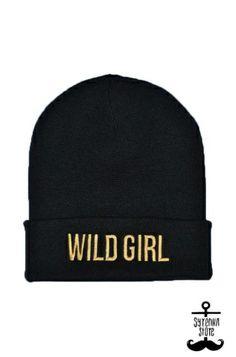 Wild girl beanie www.syrenkastore.com