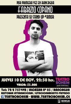 Diseño Fusión para @fabriziocopano #Amor en Rancagua.