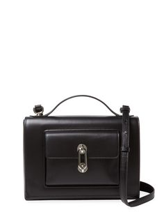 Maillon Leather Satchel by Balenciaga at Gilt