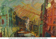 Mornington Crescent - Summer Morning - Frank Auerbach