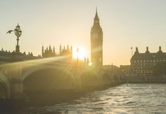 Sunset in London by Matei Iulian