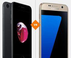 iPhone 7 ou Galaxy: compare preço e ficha técnica dos celulares (Foto: Arte/TechTudo)