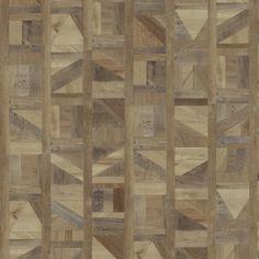 Met recht mag de Design Serie wel de meest bijzondere collectie van Therdex genoemd worden. Bijzondere vormen en structuren geven elke ruimte een zeer bijzonder karakter. Tip: bekijk de vloer altijd op een groter oppervlak om het bijzondere effect goed te kunnen zien.  Groot praktisch voordeel is dat het product als planken of tegels geleverd wordt. Dus geen puzzel van allerlei delen, maar eenvoudig te installeren. Hardwood Floors, Flooring, Divider, Texture, Room, Crafts, Furniture, Home Decor, Wood Floor Tiles