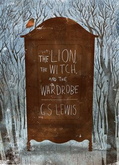 Illustration by Kevin Howdeshell -The Lion, the Witch, & the Wardrobe, and the entire Narnia series, C. Book Cover Art, Book Cover Design, Book Art, Buch Design, Art Design, Graphic Design, Design Poster, Flyer Design, Poster Designs