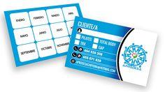 Diseño e impresión de 500 tarjetas de cliente para el centro APRODESA