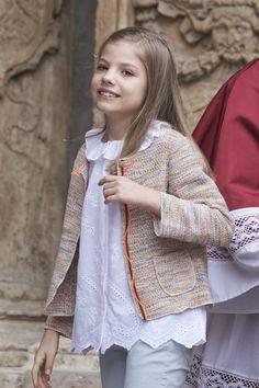 PASCUA EN PALMA DE MALLORCA POUR LA FAMILLE ROYALE D'ESPAGNE - PRINCESS MONARCHY