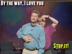 "The two of you just can't help it. | 20 Beautiful Things About Friendship As Told By ""Whose Line Is It Anyway"""