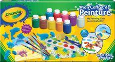 Crayola - 54-9039-e-000 - Kit De Loisirs Créatifs - Mallette De Peinture - Refresh