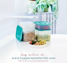 Liquid Tight seals make the containers perfect not only for storing food in the fridge and cupboard but also to take liquid food on the go or even to protect non-food accessories from the water.   Shop online at >>   #mariekondo #peacefulmindpeacefullife  #declutter #sparkjoy #magicoftidyingup