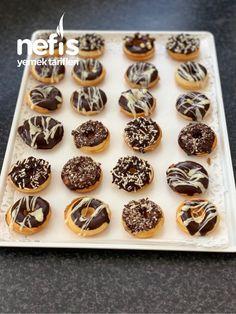Donuts Tumblr, Donut Recipes, Yummy Recipes, Donut Decorations, Gluten Free Donuts, Mole, Crepes, Doughnut, Waffles